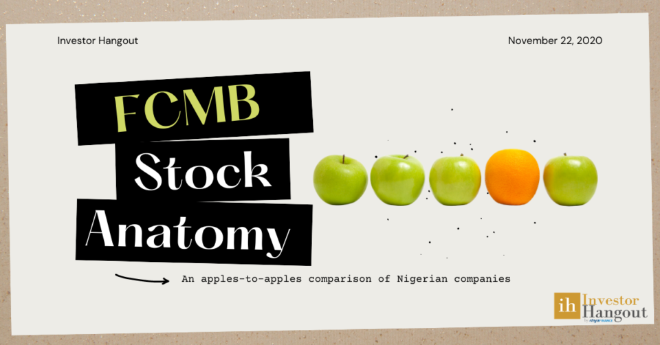 FCMB Stock anatomy - Comparing FCMB with the Nigerian banking industry - Investor Hangout
